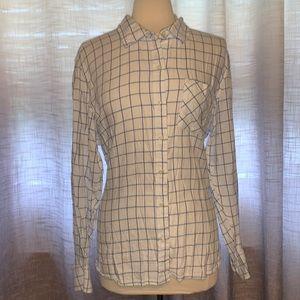 Gap XXL button down blouse
